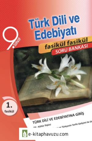 9. Sınıf Türk Dili Ve Edebiyatı Akıllı Defter