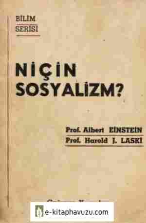 Albert Einstein-Harold J. Laski - Niçin Sosyalizm - Çağımız Yayınları
