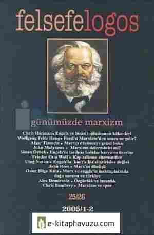 Felsefelogos 25-26 Günümüzde Marxizm kiabı indir