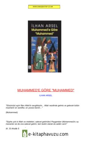 İlhan Arsel - Muhammed&39;e Göre Muhammed