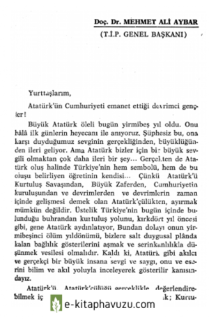 Mehmet Ali Aybar (2) kiabı indir