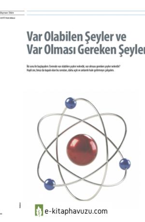 Prof.dr.bayram Tekin - Varolabilen Şeyler