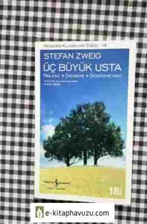 Stefan Zweig Üç Büyük Usta (Balzac, Dickens, Dostoyevski)