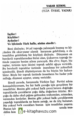 Yaşar Kemal kiabı indir