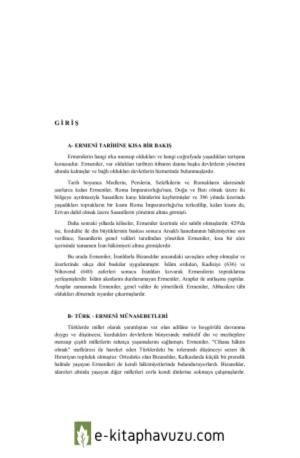 Arşiv Belgelerine Göre Kafkaslar'Da Ve Anadolu'Da Ermeni Mezâlimi I 1906 1918