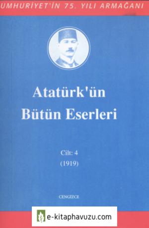 Atatürk'ün Bütün Eserleri-4 kiabı indir