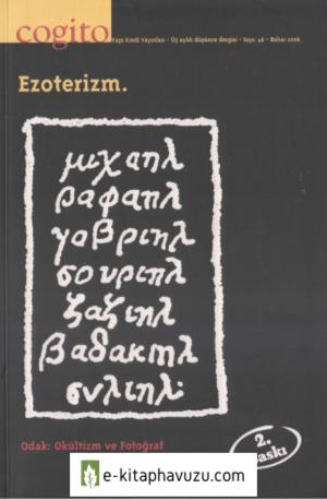 Cogito 46.sayı - Ezoterizm Bahar 2006