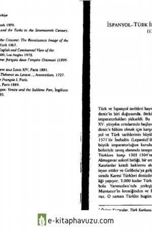 İspanyol-Türk İlişkilerine Kuşbakışı (1300-1584)