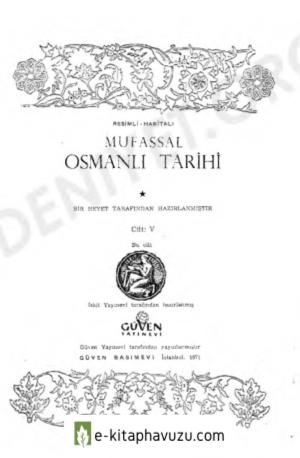 Mustafa Cezar - Mufassal Osmanli Tarihi 5.cilt kiabı indir