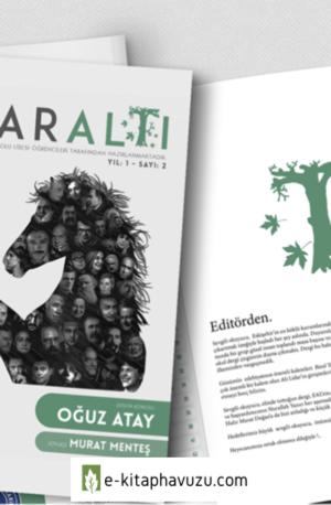 Oğuz Atay - Çınaraltı Dergisi - Son (Oğuz Atay)