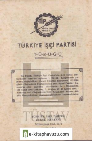 Tıp Tuzugu 1964