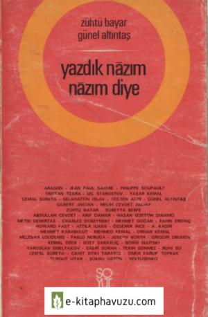 Zühtü Bayar & Günel Altıntaş - Yazdık Nazım Nazım Diye - Soyut Yayınları