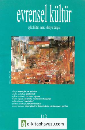 Evrensel Kültür - Sayı 113-Mayıs 2001 kiabı indir