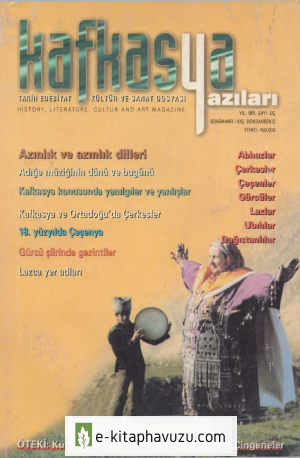 Kafkasya Yazıları 03 Sonbahar-Kış 1997-98