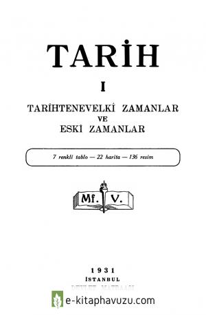 Maarif Vekaleti - Tarih - 1
