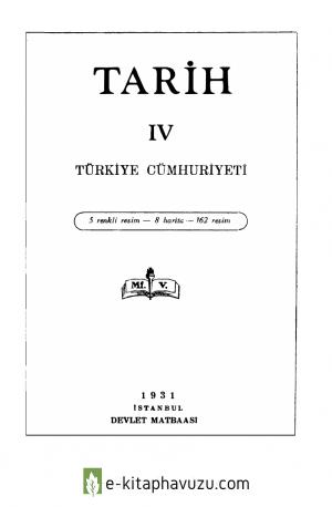 Maarif Vekaleti - Tarih - 4 - Turkiye Cumhuriyeti
