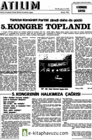 Atılım Sayı 119 Kasım 1983 5. Kongre Özel Sayısı