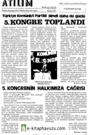 Atılım Sayı 119 Kasım 1983