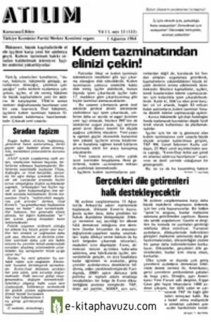Atılım Sayı 133 01 Ağustos 1984