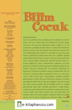 Bilim Çocuk Dergisi Eylül 2005