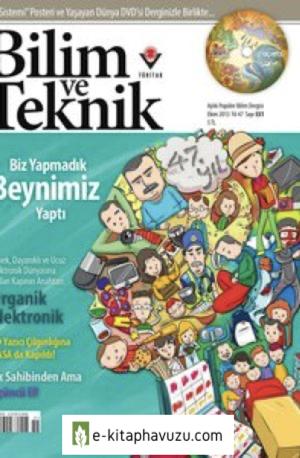 Bilim Ve Teknik Dergisi 551. Sayı - Ekim 2013