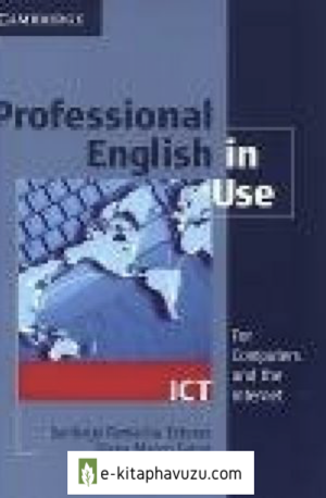 Cambridge - Professional English İn Use - Ict