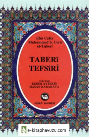 Ebû Cafer Muhammed Bin Cerir'et-Taberî Tefsiri-5