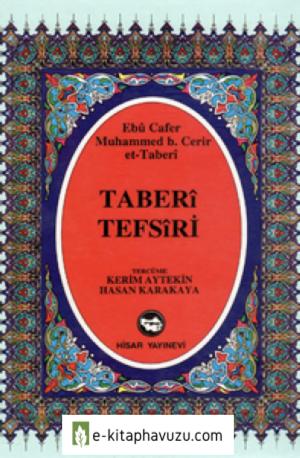 Ebû Cafer Muhammed Bin Cerir'et-Taberî Tefsiri-8