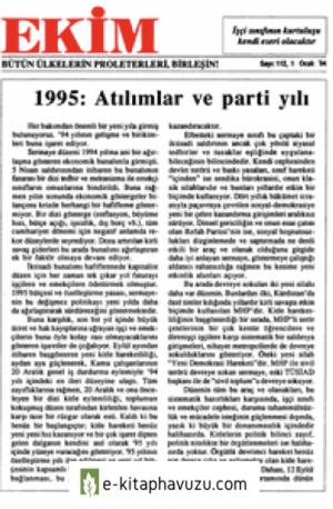 Ekim Sayı 112 01 Ocak 1995