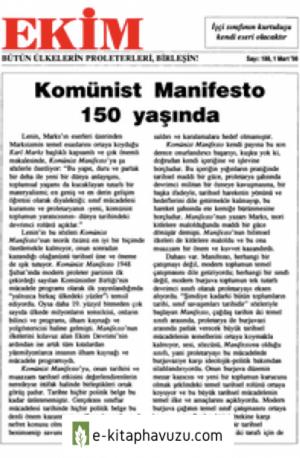 Ekim Sayı 188 01 Mart 1998
