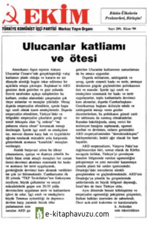 Ekim Sayı 209 Ekim 1999