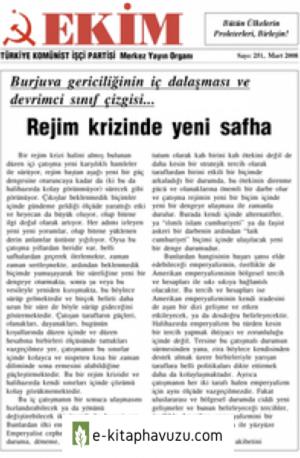 Ekim Sayı 251 Mart 2008