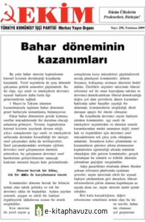 Ekim Sayı 258 Temmuz 2009