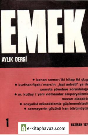 Emek Dergisi - C-2 - Sayi - 01