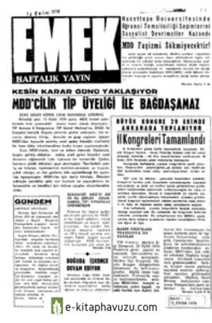 Emek Dergisi -Ek - Emek Haftalik - 11