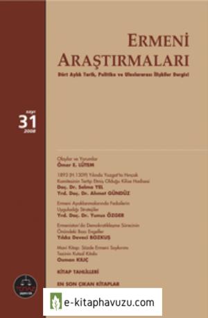 Ermeni-Arastirmalari-Sayi-31