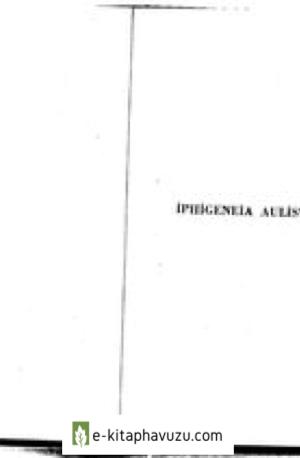 Euripides - Iphigeneia Aulis Te