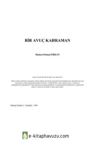 Hamza Osman Erkan - Bir Avuc Kahraman