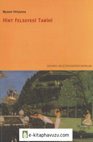 Hint Felsefesi Tarihi -Mysore Hiriyanna
