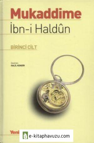 İbn-İ Haldûn - Mukaddime I.cilt (Clearscan)