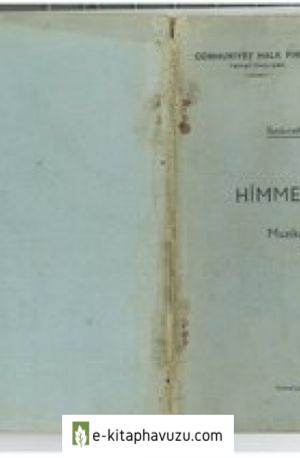 İbnürrefik Ahmet Nuri - Himmetin Oğlu kiabı indir