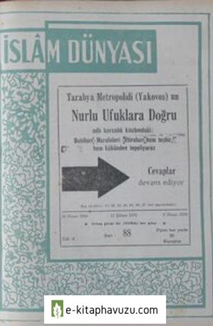 İslam Dünyası M.raif Ogan - Sayı 88 16 Nisan 1954