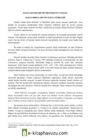 Kutlu Altay Kocaova - Haçlı Seferleri'nin Bilinmeyen Tarafı Haçlı Orduları'nın Haçlı Türkleri