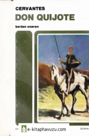 Miguel De Cervantes - Don Quijote - Cilt 1 - Sosyal 1982