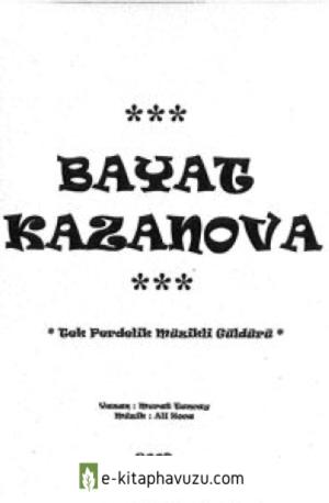 Murat Tuncay - Bayat Kazanova kiabı indir