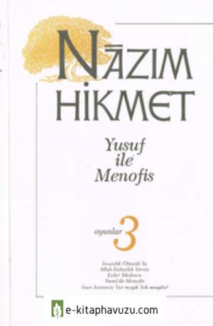 Nazım Hikmet 12 - Yusuf İle Menofis - Adam Yayınları