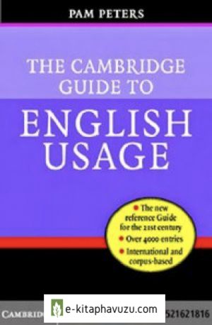Peters - The Cambridge Guide To English Usage