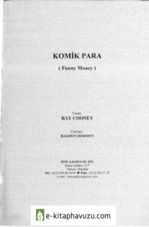 Ray Cooney - Komik Para