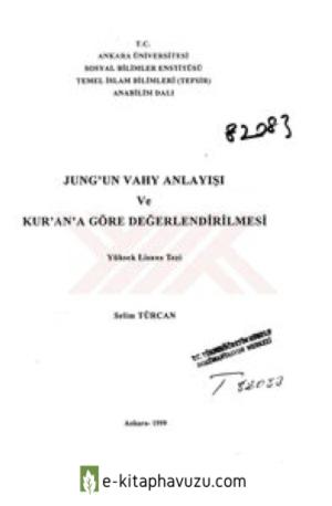 Selim Turkcan - Jung'un Vahy Anlayisi