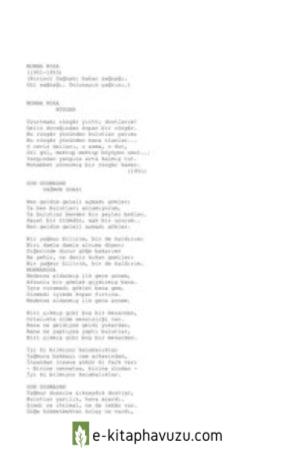 Sezai Karakoç - Gün Doğmadan